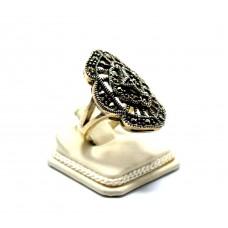 Markazit Taşlı Fantazi Modeli Gümüş Yüzük