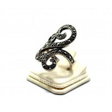 925 Ayar Gümüş Markazit Fantazi Model Bayan Yüzük