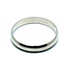 İnce ve Klasik Model Gümüş Alyans
