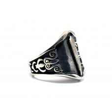Elif Modeli gümüş Zihgir (okçu ) Yüzüğü