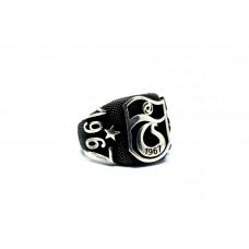 925 Ayar Gümüş Tırabzon Spor Taraftar Yüzüğü