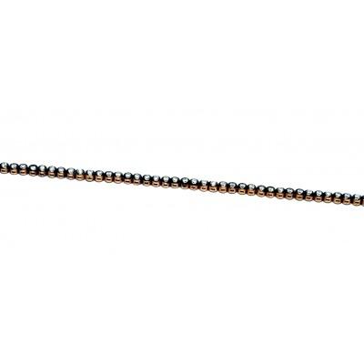 925 Ayar Gümüş Zirkon Taşlı Rose Kaplama  Ayarlanabilir Bileklik