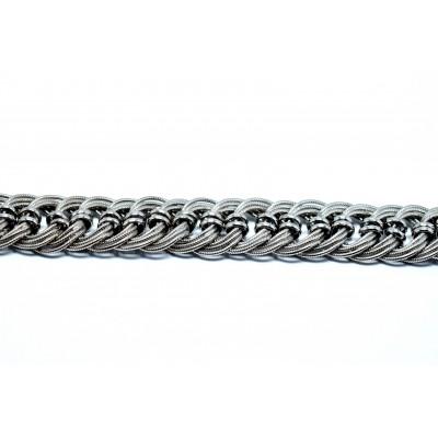 925 Ayar Gümüş El Yapımı  Kazaziye Modeli Bileklik