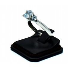 Swarovski Taşlı gümüş Tektaş Yüzük İthal