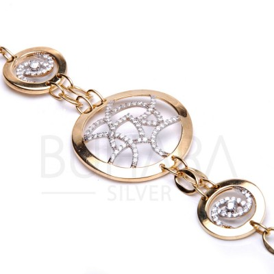 Imported Gold Plated 925 Silver Bracelet