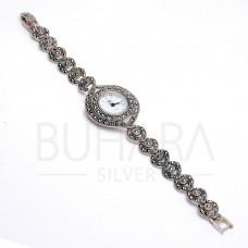 925 Ayar Gümüş Markazit Bayan Saat